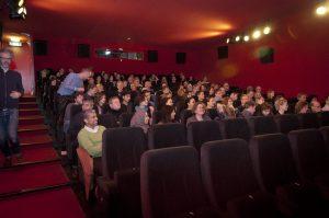 Gasten tijdens de première