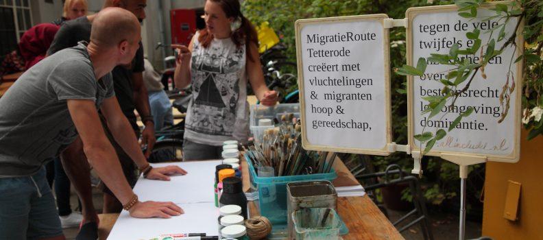 Een eerlijk en open gesprek tijdens MigratieRoute Tetterode